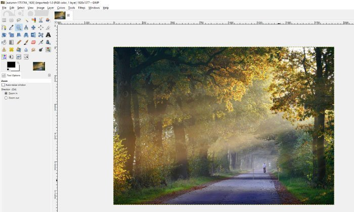 How to Remove Anything from a Photo in GIMP | Davies Media