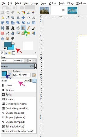 Using the Blend Tool Picture in Text Tutorial