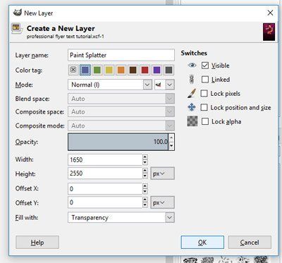 How to Create a Professional Flyer in GIMP   Davies Media Design