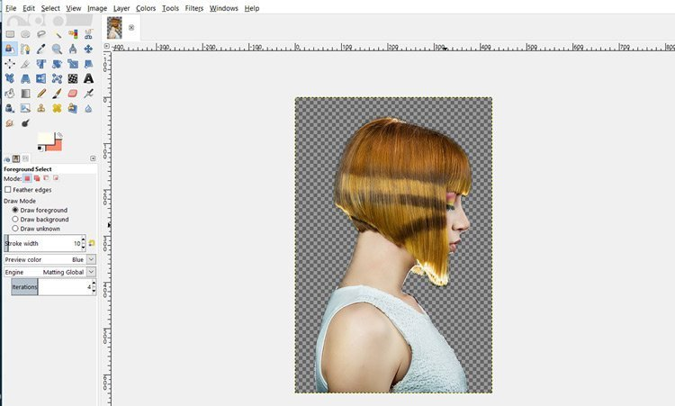 How To Remove An Image Background In Gimp 2 10 Solid Background Davies Media Design
